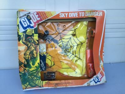 GI Joe Sky Dive To Danger In Original Box 1975 Hasbro