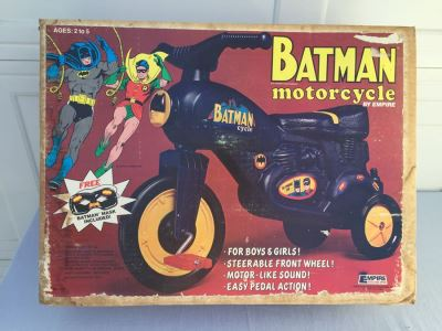 BATMAN Motorcycle By Empire New In Box RARE Vintage 1977