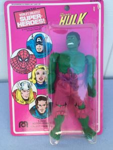 The Incredible Hulk Action Figure Sealed On Card MEGO Vintage 1978