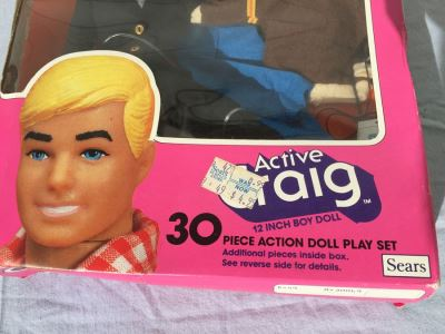 Active Craig 12 Inch Boy Doll SEARS New In Box Vintage