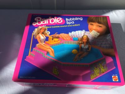 Barbie Bubbling Spa Mattel New In Box 1983