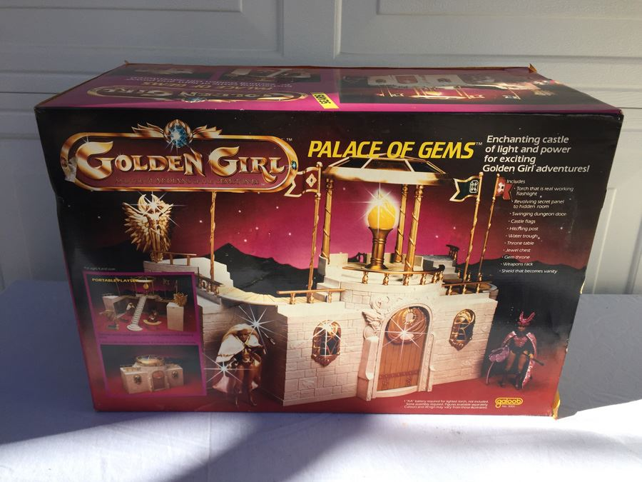 Golden Girls Palace Of Gems Enchanting Castle Playset New In Box 1984 Lewis  Galoob Toys Rare