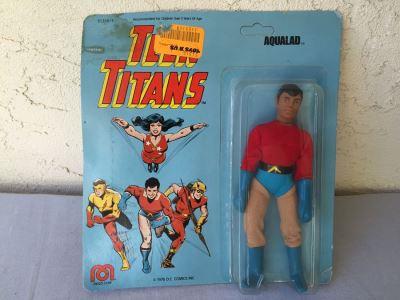 TEEN TITANS Aqualad MEGO New On Card 1976 DC Comics