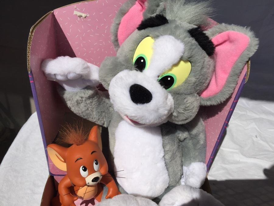 Tom And Jerry The Movie Plush Doll New In Box Mattel