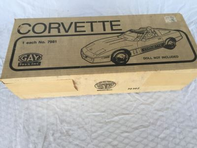 Vintage Corvette New In Box Gay Toys Barbie