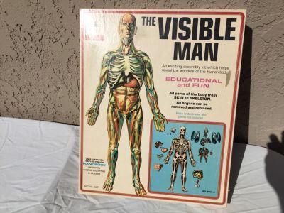The Visible Man By Renwal In Box No. 800 :598