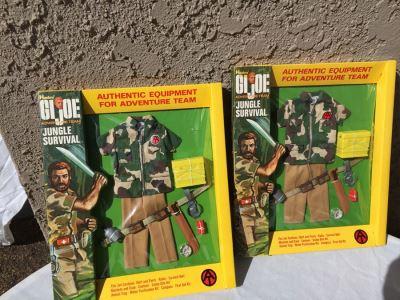 GI Joe Adventure Team Jungle Survival Set New In Box Hasbro Vintage 1971