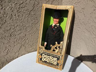 Talking Doctor Dolittle Mattel New In Box Vintage 1967
