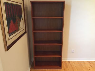Modern Tall Bookshelf