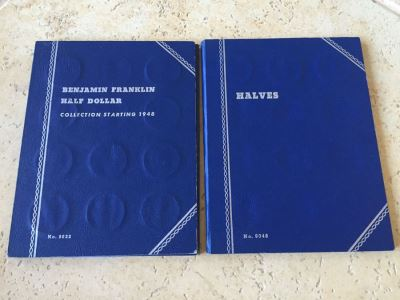 36 Benjamin Franklin Half Dollars And 3 1964 Kennedy Half Dollars $279 Melt Value With Coin Books