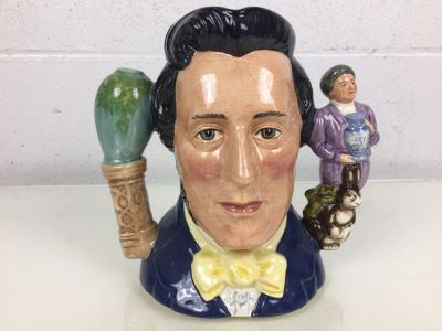 Royal Doulton Large '100th Anniversary of Sir Henry Doulton' D7054 Character Jug Limited Edition 50 of 1997 Signed By Michael Doulton