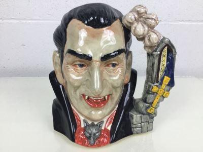 Royal Doulton Large 'Count Dracula' D7053 Character Jug