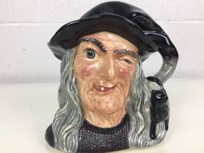 Royal Doulton Large 'The Witch' D6893 Character Jug