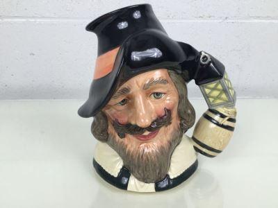 Royal Doulton Large 'Guy Fawkes' D6861 Character Jug