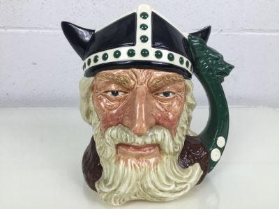Royal Doulton Large 'Viking' D6496 Character Jug 1958