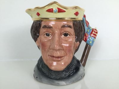 Royal Doulton Large 'The Shakespearrean Henry V' 6671 Character Jug 1982