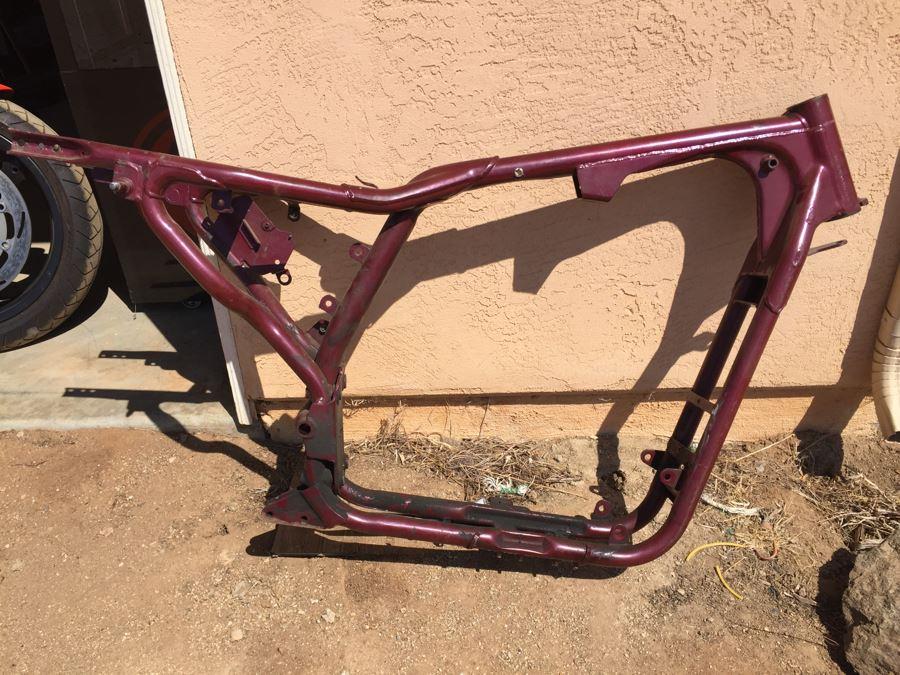 Harley Davidson Sportster Motorcycle Frame Estimate $550