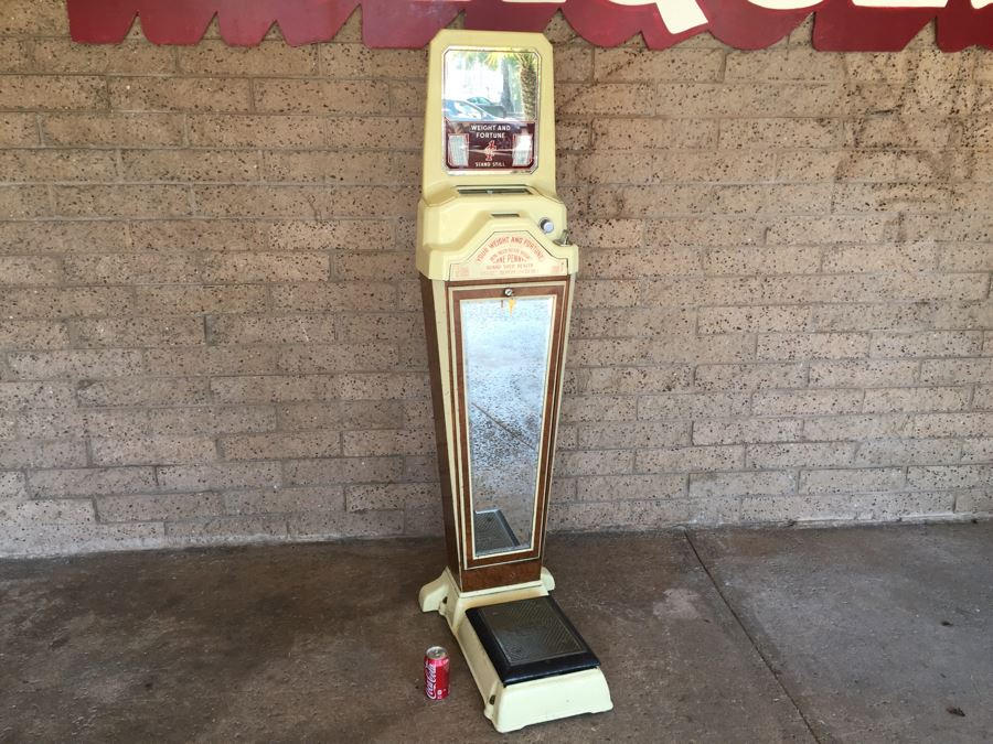 Original 1930 S Penny Fortune Scale From Watling Scale Co