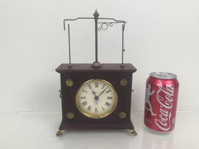 Jerome And Co. Swinging Ball Clock West Germany WORKING