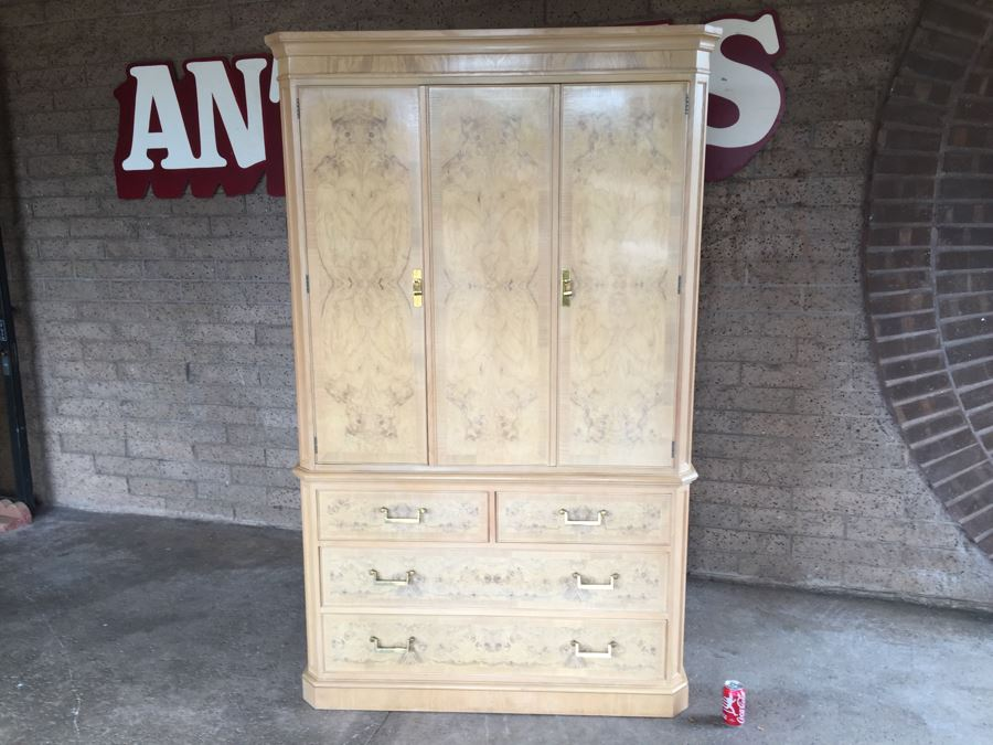 Tall Cabinet Armoire Corinthian By Drexel Heritage [Photo 1]