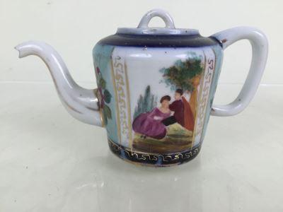 Vintage Hand Painted Porcelain Teapot