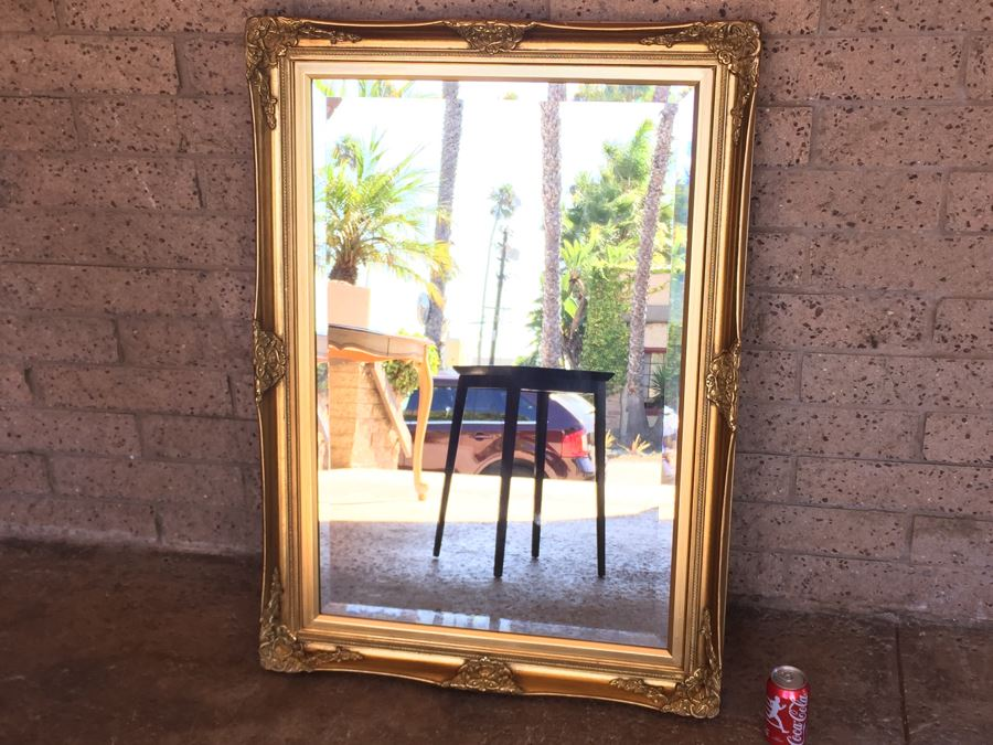 Windsor Art Gilt Frame Beveled Glass 24 x 36 Wall Mirror [Photo 1]