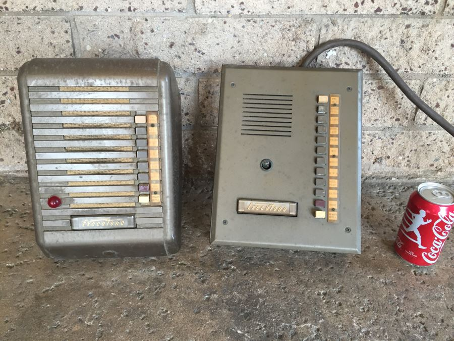 Vintage Executone Intercom From Mission Hills Estate