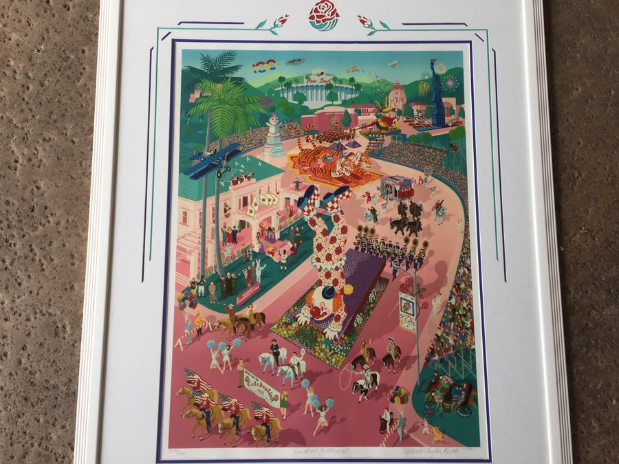 Melanie Taylor Kent Signed Limited Edition Serigraph