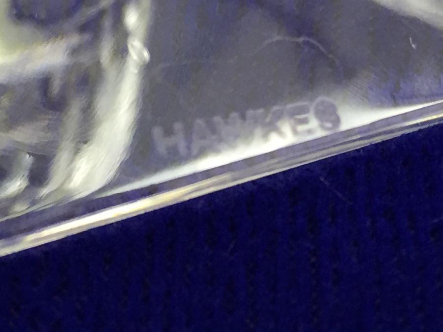 Set Of 6 Art Deco Hawkes Steuben Lead Crystal Stemware