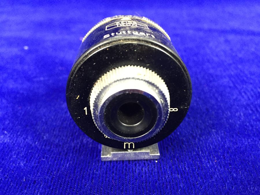 Zeiss Ikon Stuttgart Germany Type 440 5 Lens Turret Finder