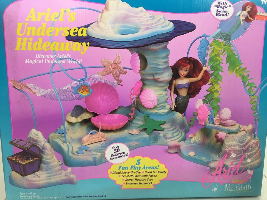 Ariels Undersea Hideaway Playset Disneys The Little Mermaid TYCO Vintage 1992 New In Box Photo