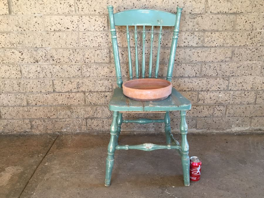 shabby chic garden chair planter photo 1 - Garden Furniture Shabby Chic