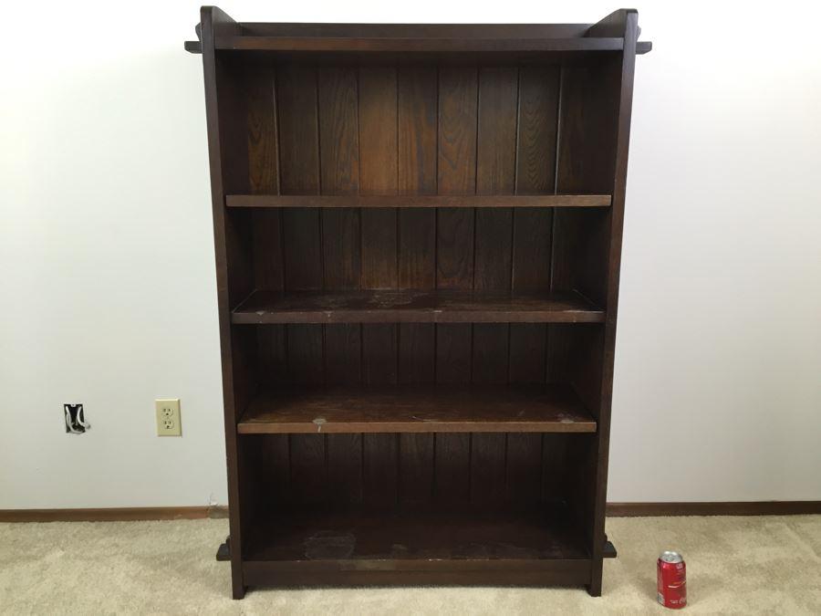 Stickley Furniture Solid Bookcase Book Shelf 1994 34 Photo 1