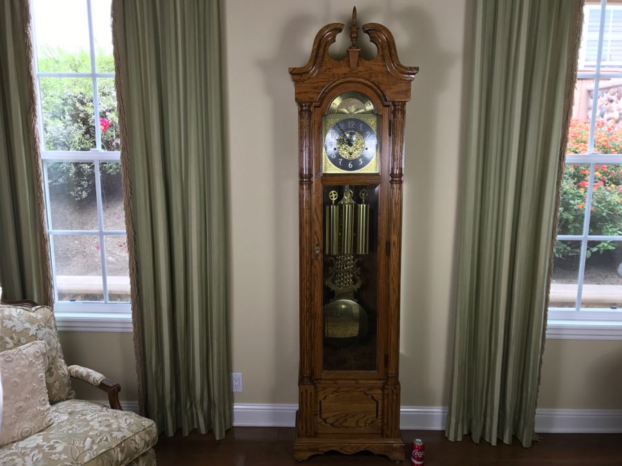 Nice Traditional Grandfather Clock Western Germany