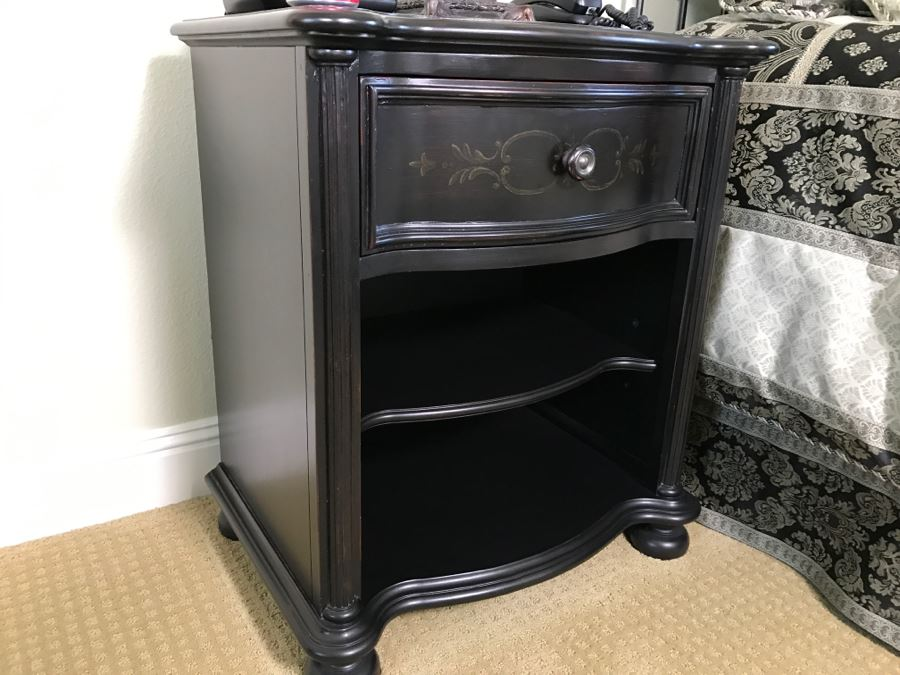 Black Nightstand Seven Seas By Hooker Furniture [Photo 9]