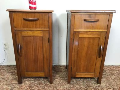 Pair Of Vintage Nightstands Side Tables