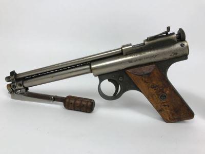 Benjamin Air Rifle Company Vintage Rare 'Benjamin Franklin' PISTOL Model 112 Air Gun