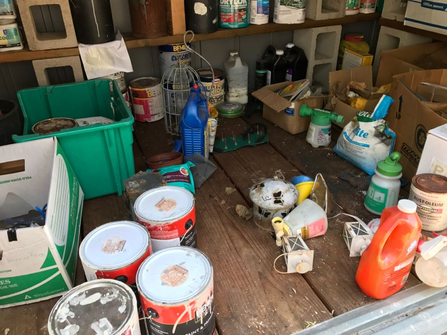 Garage And Garden Essentials   Entire Contents Of Shed Photographed [Photo  18]