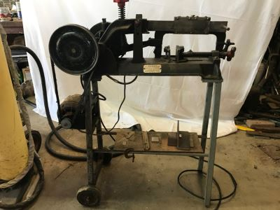Vintage WARDS POWR-KRAFT Reciprocating Saw Model No. 25TMN2403A