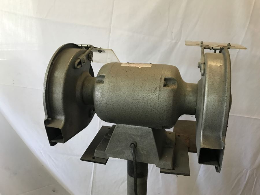 Heavy Duty Ball Bearing Electric Bench Grinder With Stand By