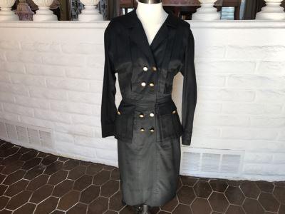 Classy Black CHANEL Boutique Dress Size 38
