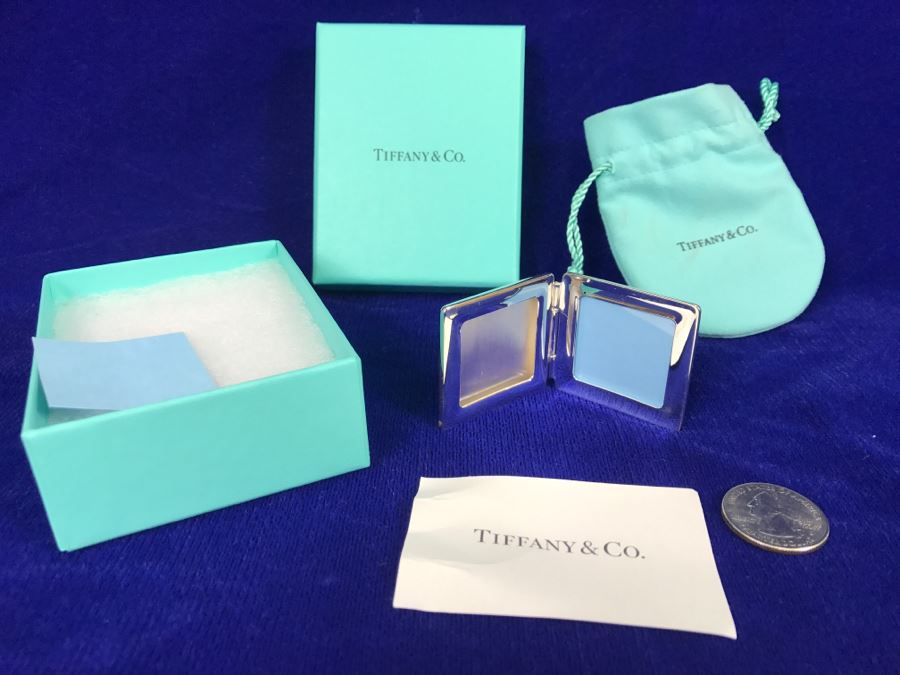 Tiffany Co Ag 925 Spain Small Travel Picture Frame By Elsa Peretti