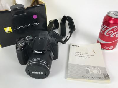 Nikon Coolpix P530 Camera With Box And Manual