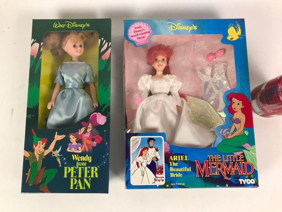 Vintage Walt Disney Wendy From Peter Pan Doll New In Box