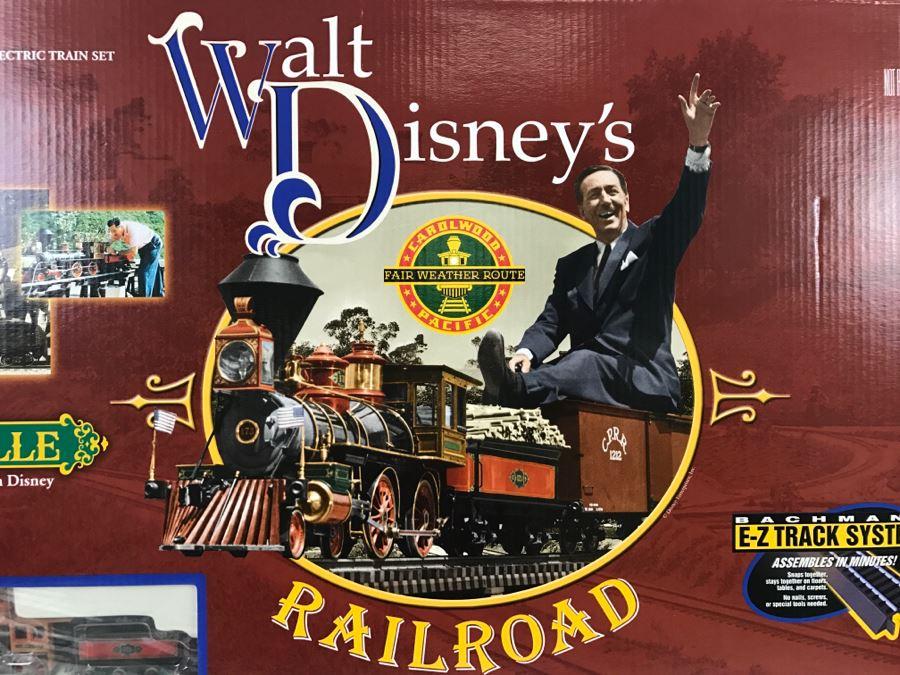 Collectible Bachmann Walt Disney S Railroad Train Set