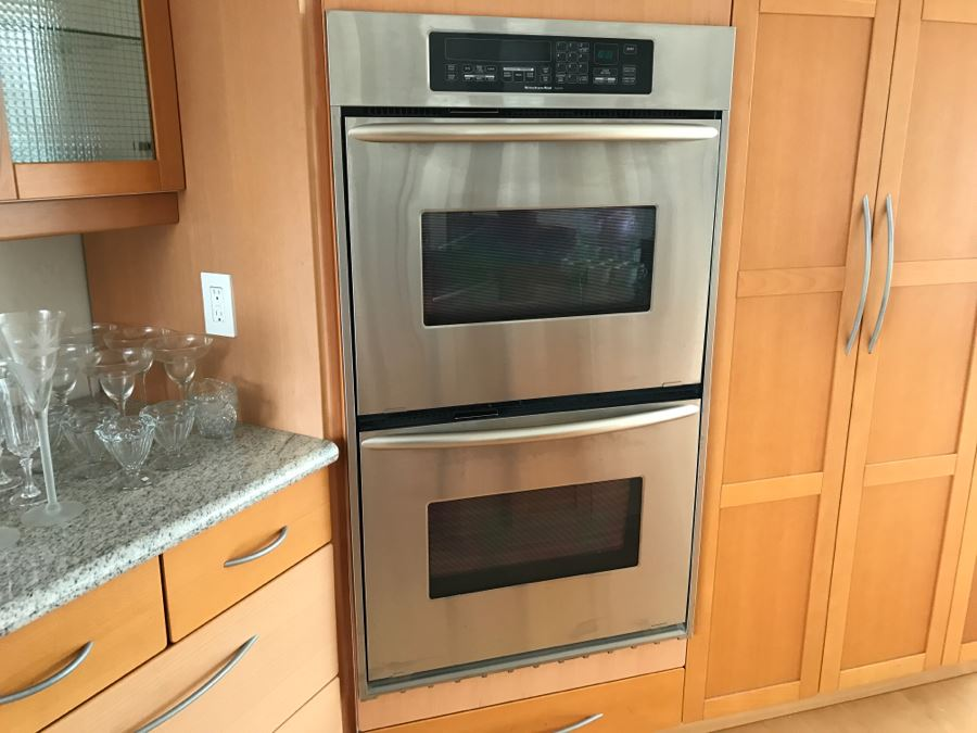 Excellent Kitchenaid Stainless Steel Double Wall Oven Model Kebsdss Photo  With Kitchen Aid Wall Oven