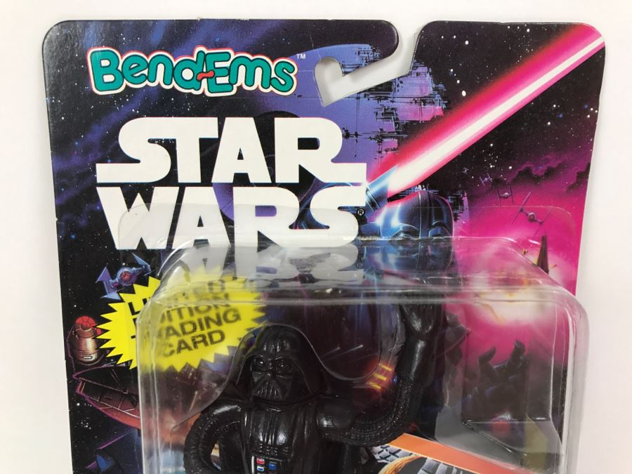 STAR WARS Bend Ems Darth Vader 1993