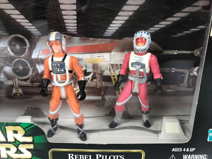 Star Wars The Power Of The Force Rebel Pilots Ten Numb