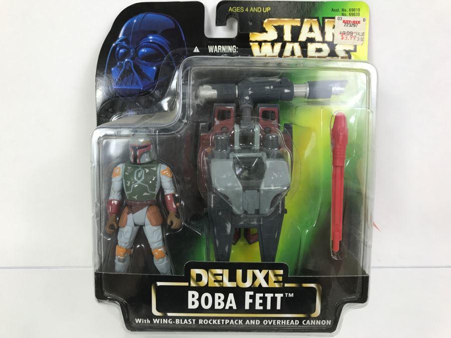 1996 STAR WARS   DELUXE  BOBA FETT