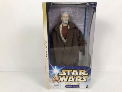 STAR WARS A New Hope Tatooine Encounter Obi-Wan Kenobi Hasbro 2003 84730/84940 New In Box